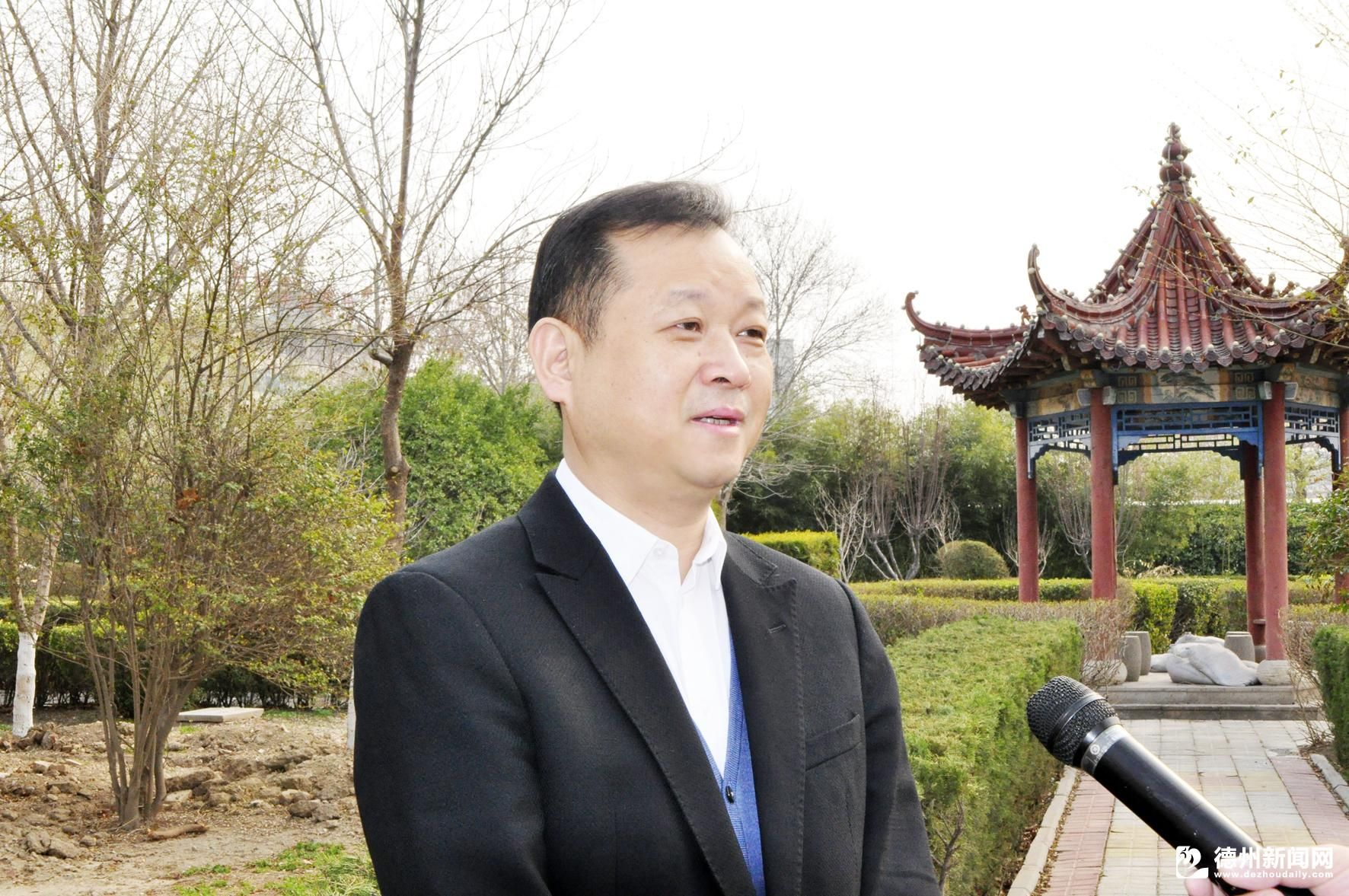 给齐河营商环境点赞——访山东省温州商会会长、山东连城置业有限公司董事长陆建林