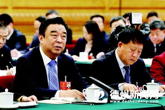 山东代表团代表向总书记汇报 奋力走在前列奋斗成就幸福