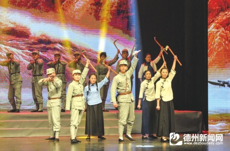 庆祝新中国成立70周年  大发时时彩网站市首次沉浸式演出震撼上演