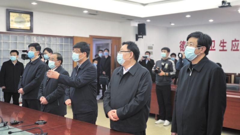 李猛、楊洪濤等市領導視頻連線慰問德州援鄂醫務人員