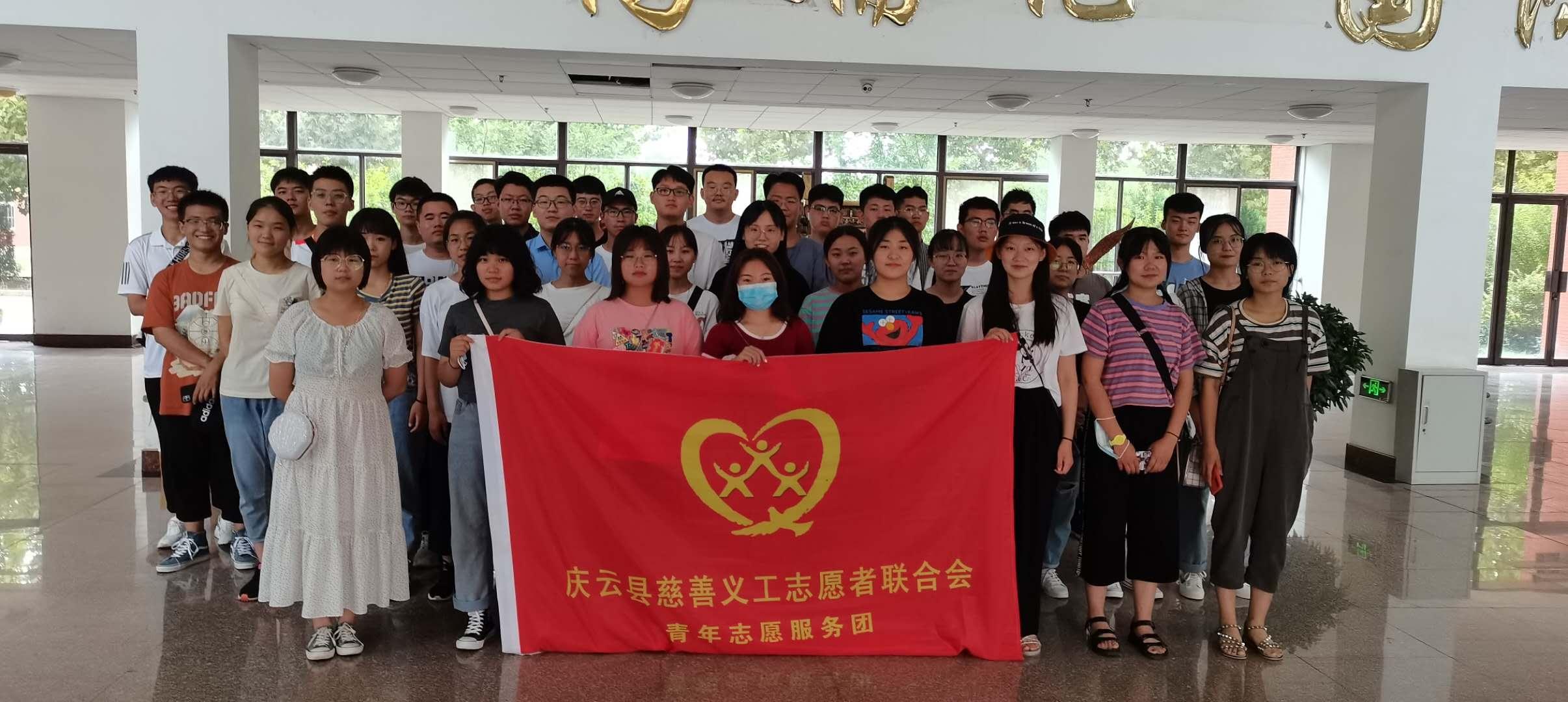 庆云青年志愿服务团丨创文明城市 展志愿风采