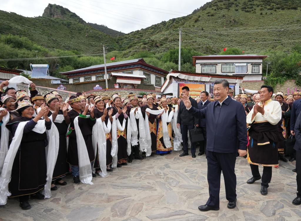 把祖國邊疆建設得更美好——習近平總書記考察西藏回訪記