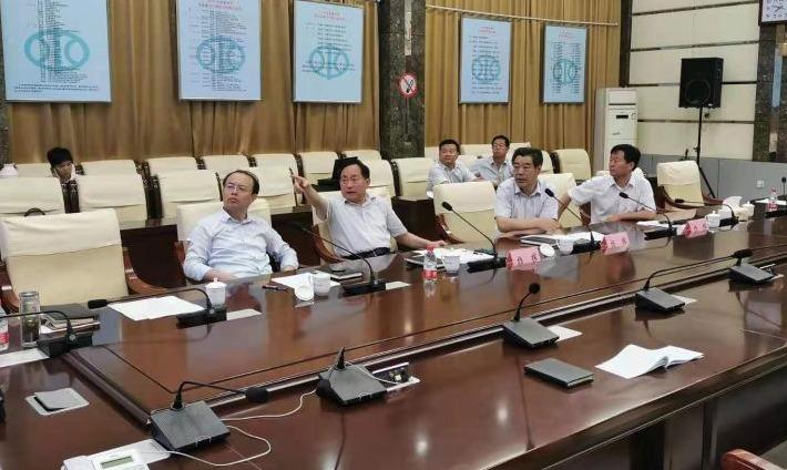 刘炳国到市防汛抗旱指挥部、丁东水库检查调度防汛工作