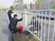 运河经济开发区城管局开展清洗隔离护栏志愿服务活动