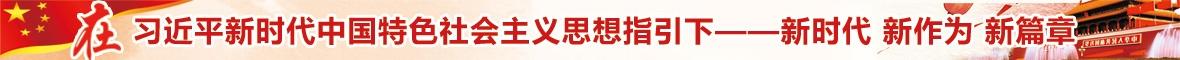 在習近平新時代中國特色社會主義思想指引下——新時代 新作為 新篇章