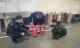 十二里庄警务室联合驻所消防协管员对危爆品企业开展消防安全检查