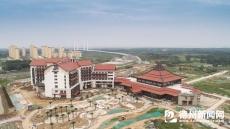 东盟国际生态城项目建设现场