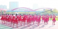 betway官网运河开发区在第四届广场舞大赛中获优秀奖
