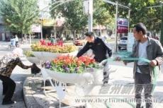 绿化管护打造靓丽城市