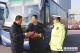德州市公安局交警开展春运交通安全宣传活动