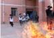 德州经开区中小学开展消防疏散演练活动