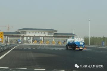 齐河黄河大桥多举措应对沙尘天气威胁