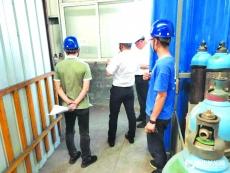 加强安全检查力度 确保企业安全生产