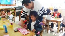 东辛店镇中心幼儿园通过主题教育活动体验母亲辛苦