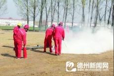天然气管网泄露应急处置演练
