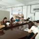 纺织服装学院党总支理论学习中心组进行集体学习