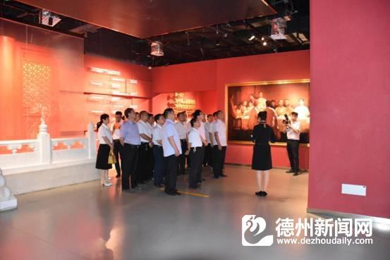 武城供電公司黨員干部到齊河黨員教育體驗基地參觀學習