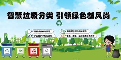 智慧垃圾分类,引领绿色新风尚