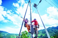 """贵州水城""""7·23""""特大山体滑坡中受损的供电线路全部恢复送电"""