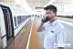高铁大发快3—极速大发快三东站客运员付里昂:一天站十余个小时保障旅客安全出行