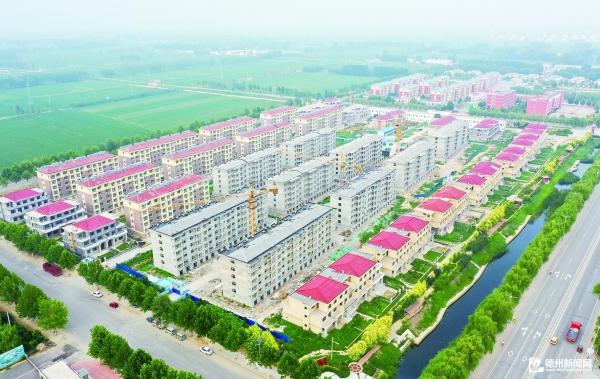 平原前曹镇——大社区建设标准高