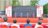 """安徽省庐江县结合""""平安创建""""开展反邪教宣传"""