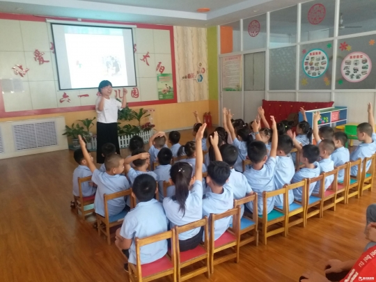 运河司法局开展法治宣传进幼儿园活动