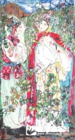 美妙脱俗生动传神——马健人物画欣赏