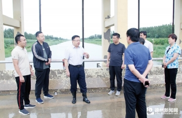 众志成城抵御台风陵城全城联动守护群众安全