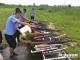 大发时时彩网站集中销毁非法枪爆物品  143支枪、86把管制器具