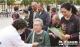 庆祝新中国成立70周年爱心义诊进社区