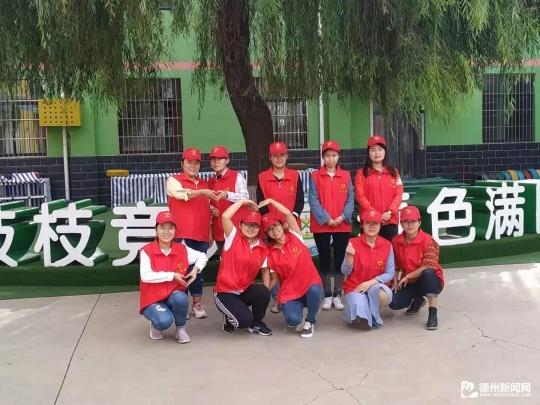 宁城街道张秀小学志愿者行动 心系敬老院,情暖老人心