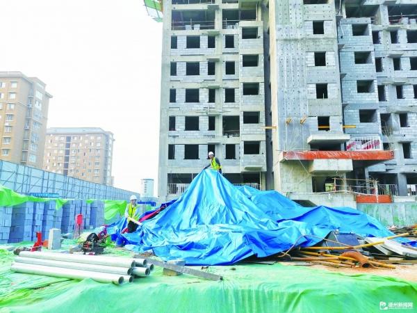 建筑工地多措防揚塵