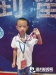 山东省少年围棋锦标赛总决赛 德州7岁围棋小将摘银