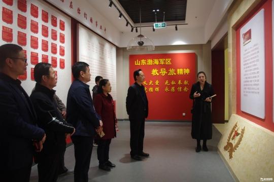農科院全體黨員走進山東渤海軍區教導旅教育基地