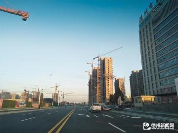 陵城区中兴路西延路段正式通车
