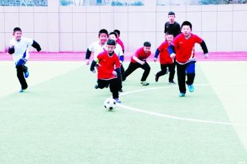 经济技术开发区积极推进足球进校园——七成学校开设足球课