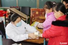 庆云县人民医院体检中心对中小学生开展健康体检