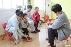 免费康复训练惠及庆云县残疾儿童