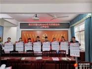 广西忻城县各地开展新年反邪教宣传活动