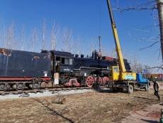 庆云县旅游又一亮点火车文化主题公园项目复工