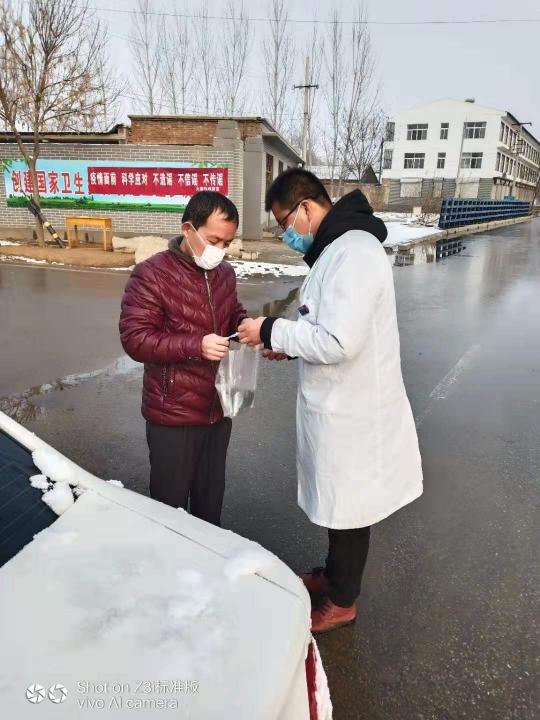 大柳衛生院新時代文明實踐志愿服務活動