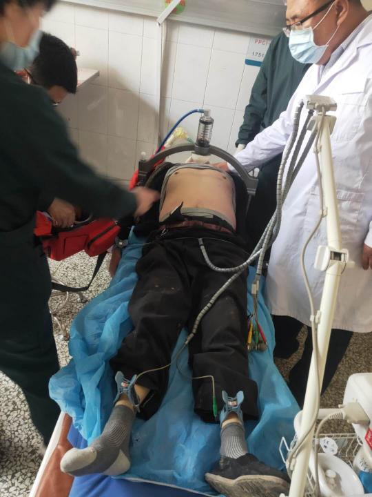 生死時速 院前急救人員合力搶救生命