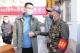 """德城區退役軍人事務局副局長丁慶林:主動夜守火車站,當好""""入德""""把關人"""
