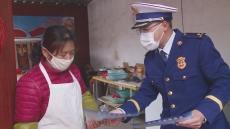 陵城区消防救援大队开展防火宣传活动