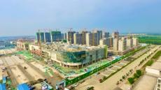 平原德百广场项目建设完成70%
