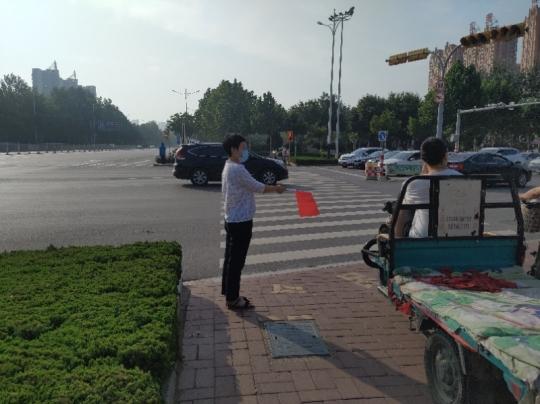 中国石油德州公司:交通劝导志愿服务,助力文明城市建设