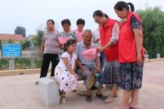 庆云渤海路街道防溺水宣传进农村