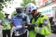 举全警之力擦亮城市文明交通窗口 创城攻坚,公安交警在行动