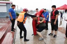 庆云开展水上救援演练提升队伍救援能力